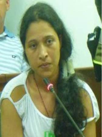 1 Sandra Patricia Vázquez Ñañez alias Rosalba unica testigo de la muerte de militares en cautiverio
