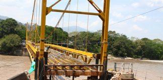 a demora en las obras del puente Paso el Colegio volcó la mirada de todos los entes sobre el contratista.