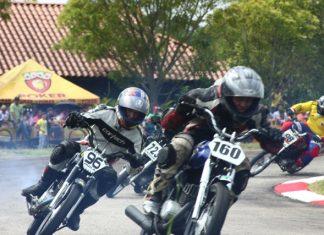La competencia fue muy emocionante para los amantes de la motovelocidad.
