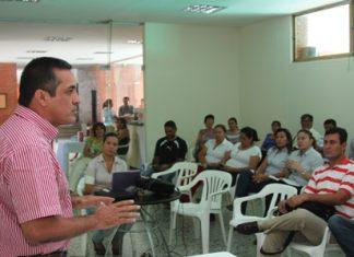 Carlos Rodríguez director del Inderhuila presentó detalles de las gestiones adelantadas pensando en Juegos Nacionales.