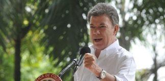 Juan Manuel Santos, presidente de Colombia. Foto Presidencia