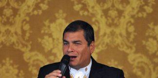 El presidente de Ecuador, Rafael Correa, pidió anular la condena contra el diario El Universo. Foto Afp