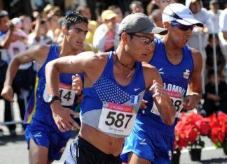 Los medallistas panamericanos James Rendón e Ingrid Hernández en compañía de Gustavo Restrepo, Fredy Hernández, Arabelly Orjuela y Rodrigo Moreno conforman el equipo de atletas colombianos que se presentarán en el Challenger de Marcha en Chihuahua (México).