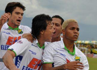 El trabajo en equipo es la clave de la buena campaña del Atlético Huila en la Liga Postobón 2012.