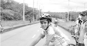 El ciclista Harold Alfonso Tejada, aspira ganar este importante galardón.