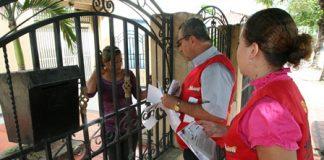 La distribución de la factura del impuesto predial se está ejecutando puerta a puerta en Neiva.