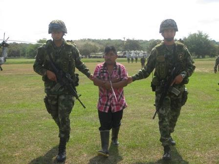 Luis Anselmo Villano Campo, alias 'Gilbo', segundo comandante del Frente 66 'Joselo Lozada' de las Farc, fue enviado a la cárcel.