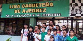 Equipo de ajedrez infantil y juvenil del Caquetá.