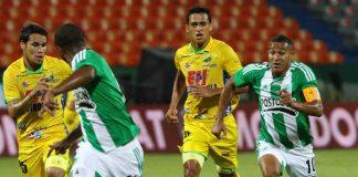 Los jugadores del Huila están muy cerca de conseguir la clasificación a los cuadrangulares semifinales de la Liga Postobón.