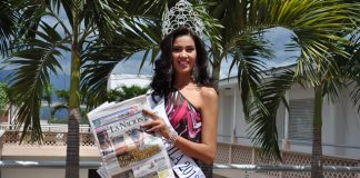 Lorena Hermida Aguilar, actual reina de la belleza huilense.