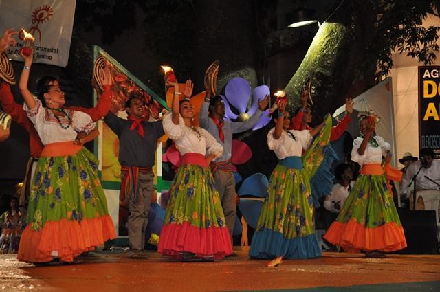 Espectaculares danzas en Neiva