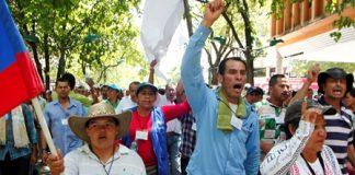 Protesta campesina se trasladó a las calles