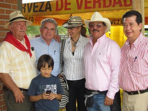 Los miembros de la Asociación de Caballistas Laboyanos Celebró los 28 años de fundación.