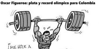 Oscar Figueroa: plata y record olímpico para Colombia