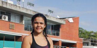Paula Oriana Narváez Ramírez es una de las deportistas Talentos en las actividades subacuáticas.