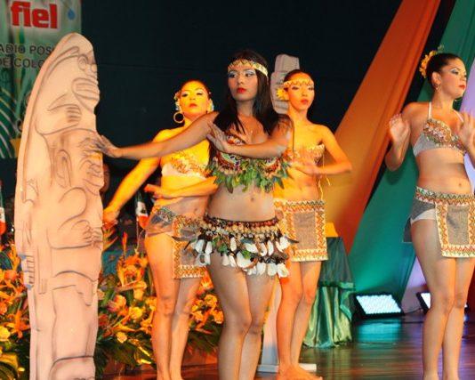 'Diosa indígena' en danza del Huila