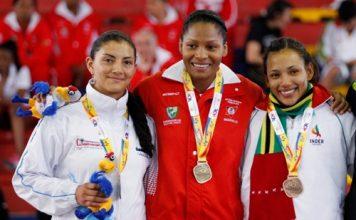 Madeleine Chocontá ganó plata, Yuri Alvear oro y Yadiris Amaris Rocha bronce.