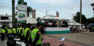 El Comando de Policía del Caquetá realizó el lanzamiento de 'Cuadrante Seguro, Navidad Segura'.