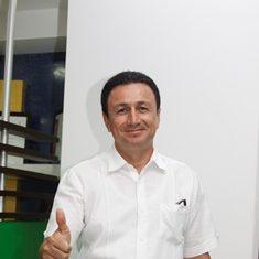 Juan Carlos Patarroyo, presidente del Atlético Huila.