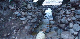 Los residuos son vertidos directamente a las fuentes hídricas sin ningún tratamiento.
