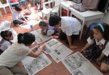 Como un miembro más de la clase, los niños y niñas del Grado Tercero recibieron el periódico, medio de comunicación con el que identificaron sus conceptos y puntos de vista.