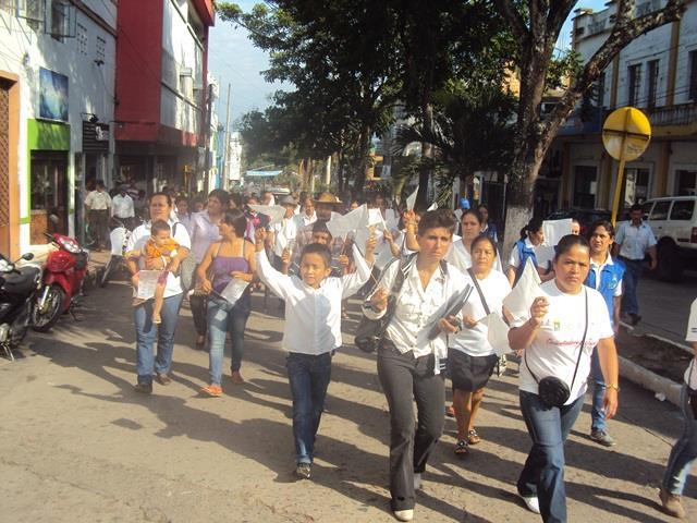 Huila se une a la marcha por la paz