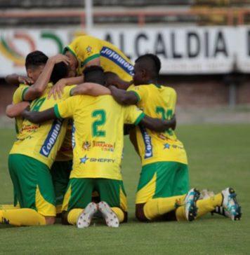 En Neiva el equipo opita debutó con triunfo en la Copa Águila. /Foto Sergio Reyes.