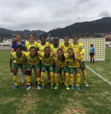 El cuadro huilense enfrentará en la quinta fecha a Fortaleza. /Foto @AHuilaFemenino.