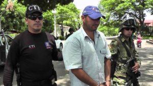 Jaiber Quintero Artunduaga, ('Paco'), capturado en Guadalupe.