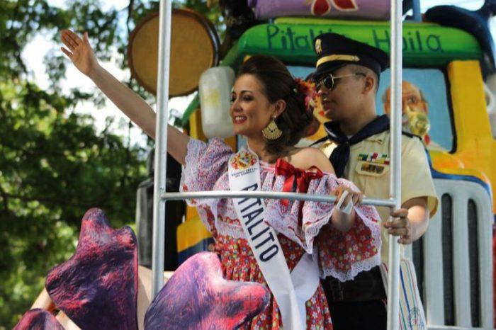 Espectacular desfile en traje campesino de las candidatas al Reinado Departamental 1 10 julio, 2020