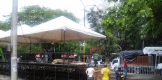 Los habitantes del barrio Los Mártires, se quejan del ruido y el desorden que se arma en el sector durante la temporada sampedrina por los negocios que se instalan sobre la Avenida Circunvalar.