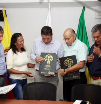 En el Huila fueron entregadas las primeras demandas por restitución de tierras. Foto Sergio Reyes.