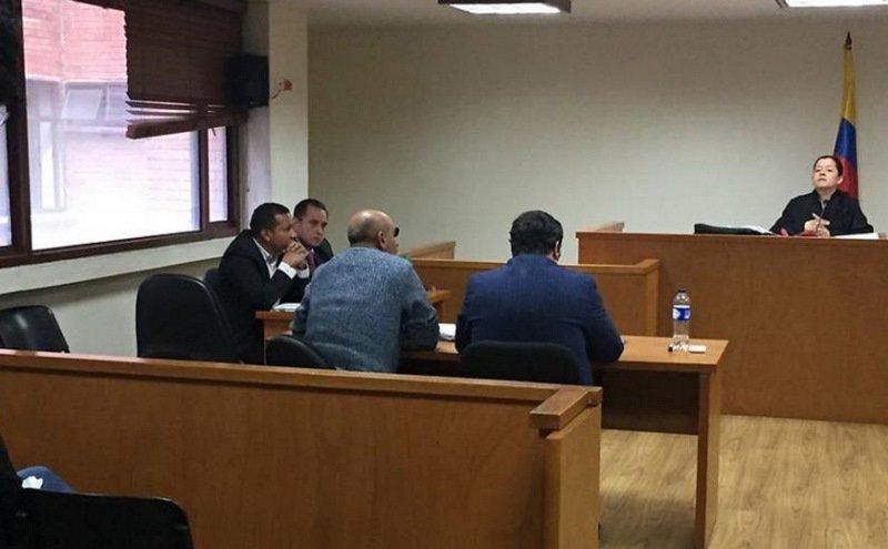 El fiscal Daniel Díaz y Jaime Pareja en el banquillo de los acusados por corrupción