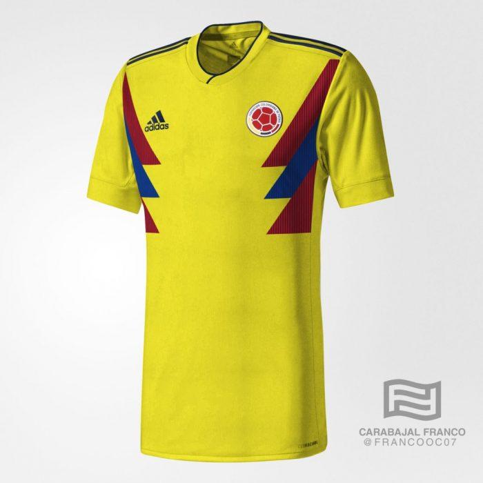 La camiseta alternativa de la Selección sería de color negro