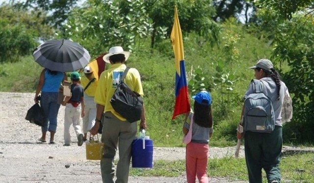 Aumentan desplazados por disidencias y Eln