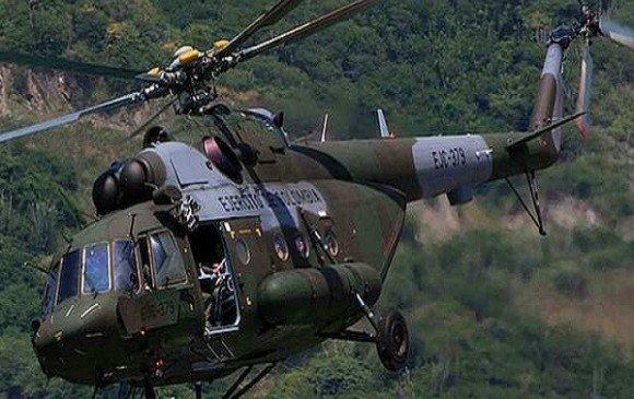 Diez muertos por accidente de helicóptero en Antioquia