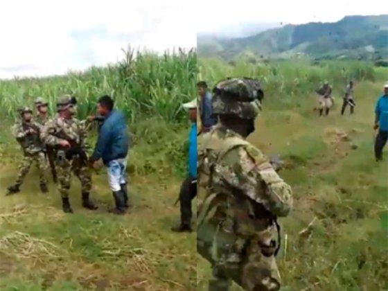 Demandarán a indígenas que intentaron agredir con machete a soldados
