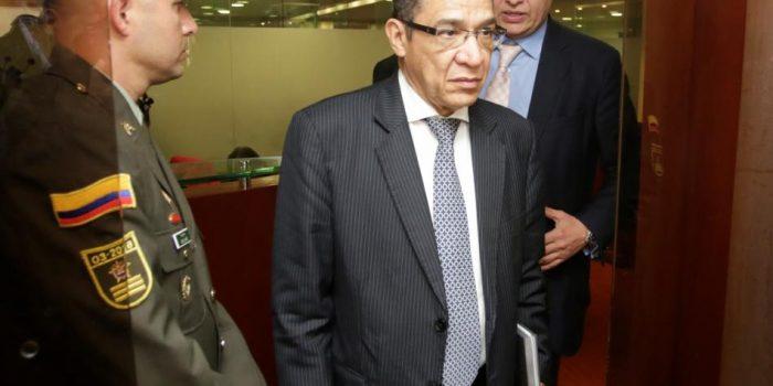 A interrogatorio Camilo Tarquino, expresidente de la Corte Suprema