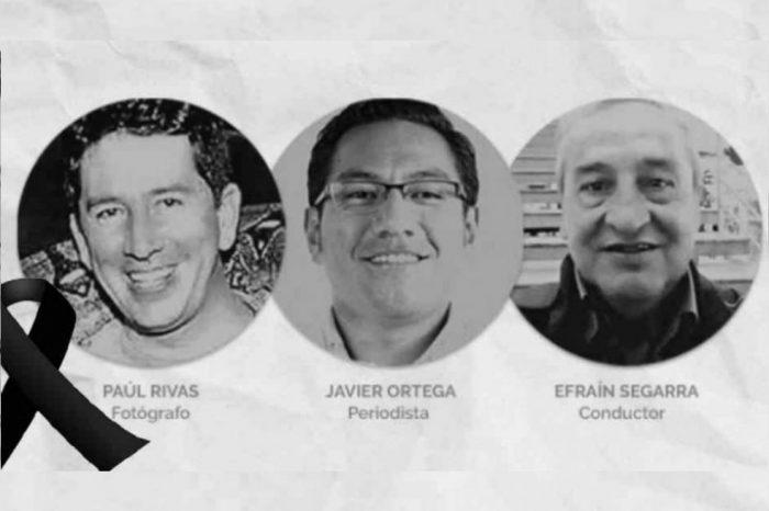 Ecuador desconoce ubicación de cuerpos de periodistas asesinados