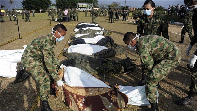 Reportan muerte de 11 guerrilleros de disidencia de ex FARC en Colombia