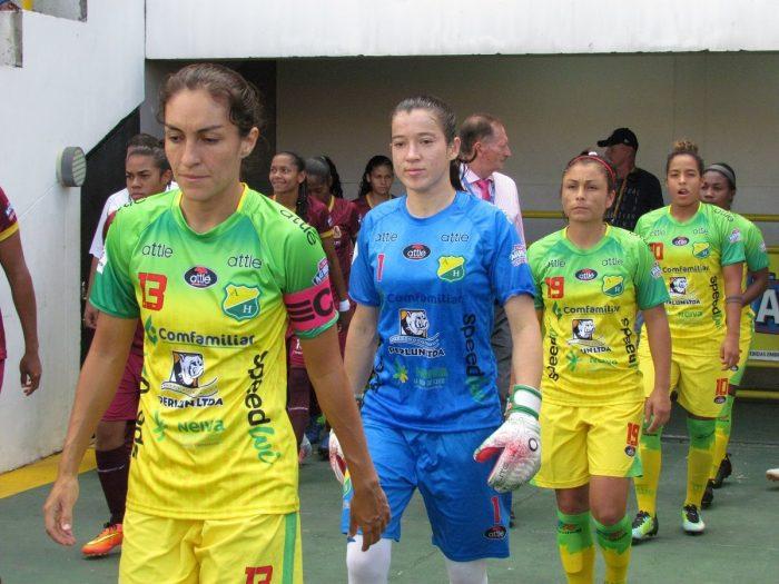 Huila y Nacional avanzan a las semifinales de la Liga Águila Femenina