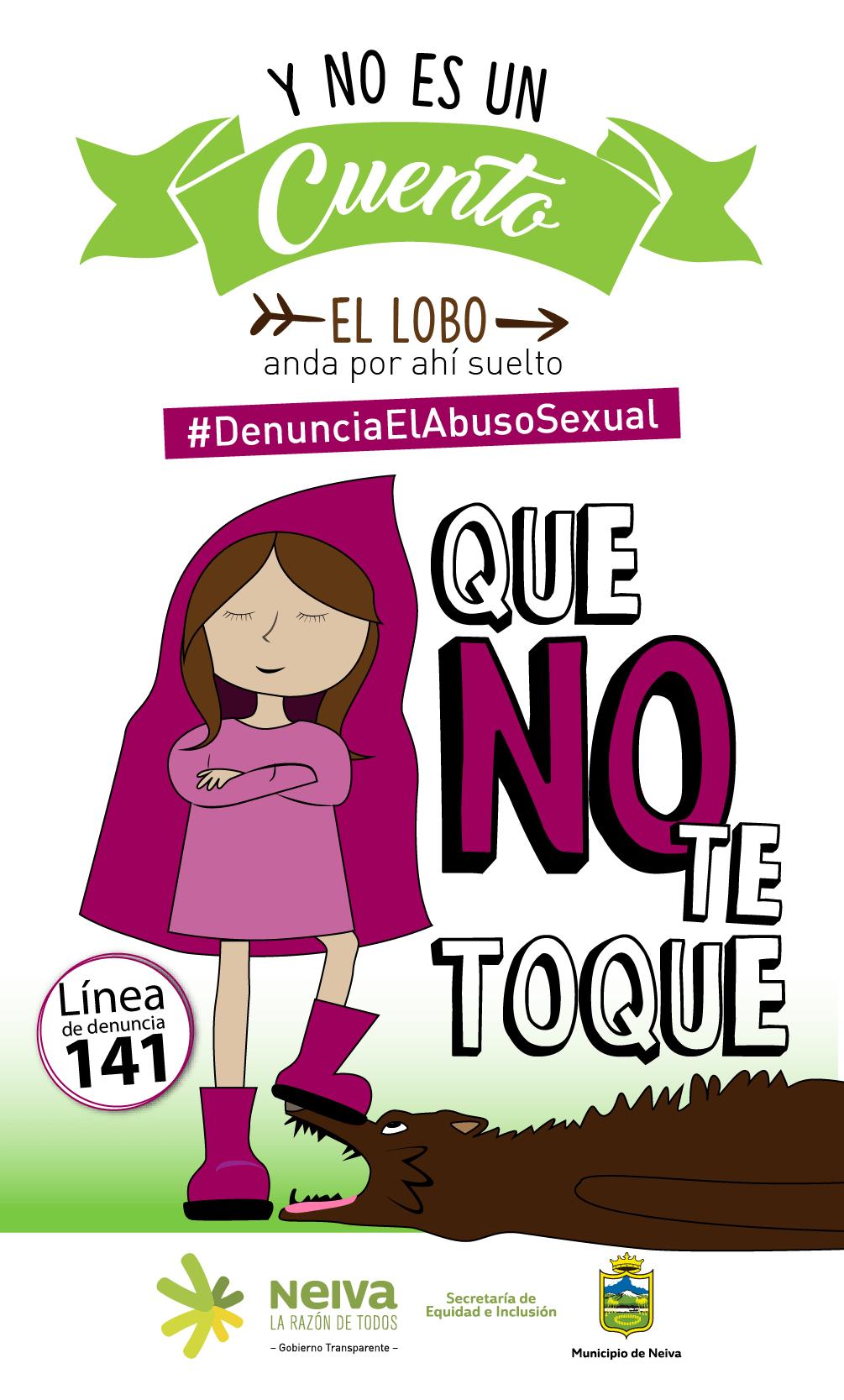 Lanzan campaña social contra el abuso sexual infantil - LANACION.COM.CO 74c036b096400