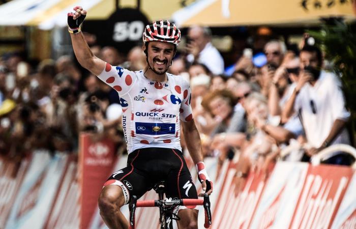 Alaphilippe hace doblete al ganar la primera de los Pirineos
