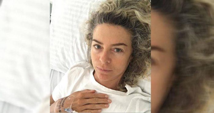 Margarita Rosa de Francisco fue hospitalizada de urgencias