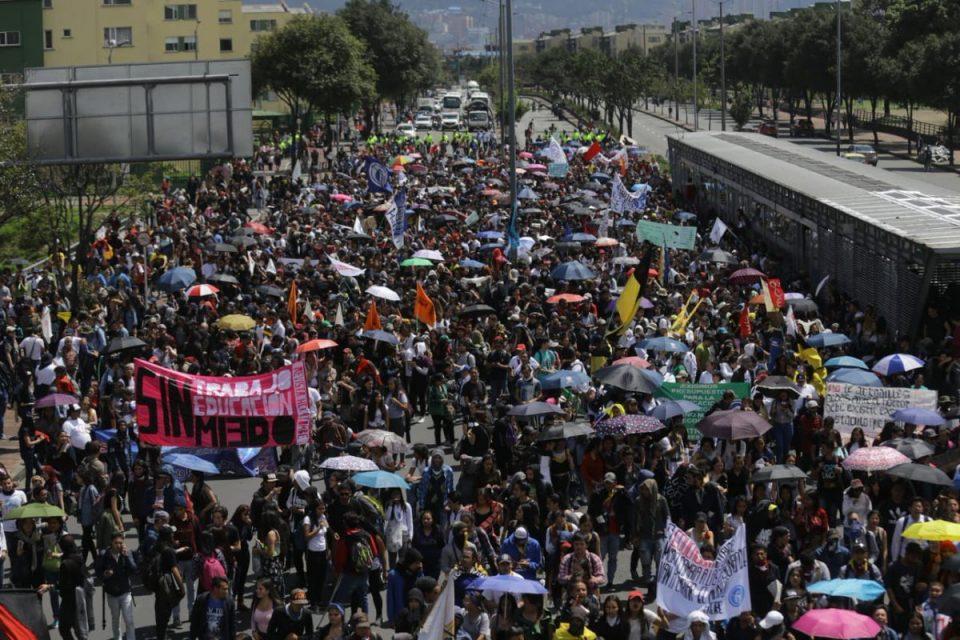 Imágenes de las marchas que se realizaron en todo el país 1 6 julio, 2020