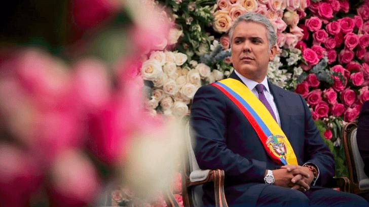 Colombianos desaprueba gestión de presidente Duque