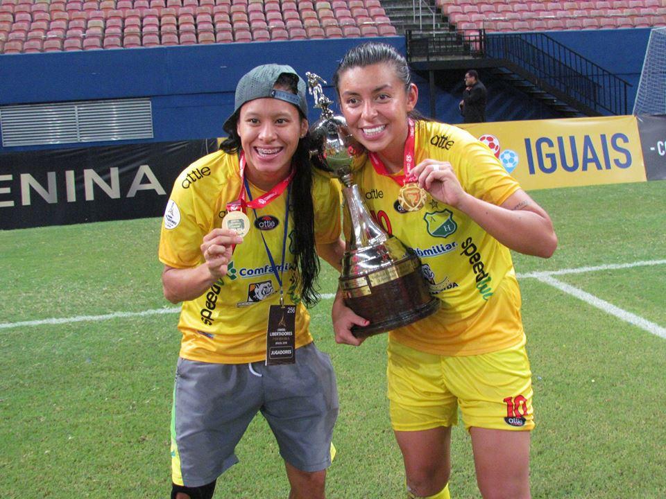 Jaylis Oliveros y Yoreli Rincón jugarían el otro año en Brasil