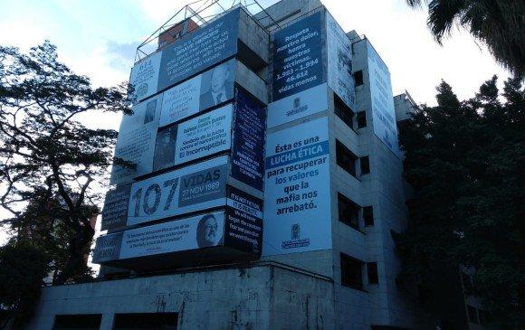Edificio de Pablo Escobar en Colombia, para recordar víctimas