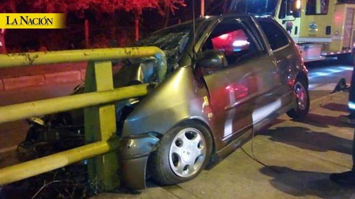 Cuatro personas heridas deja accidente en el puente El Tizón 1 7 abril, 2020