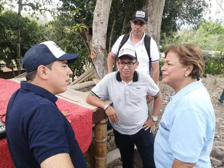Senadora Andrade en el ojo del huracán 1 7 abril, 2020